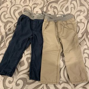 Old navy baby pants set of 2 size 12-18 months